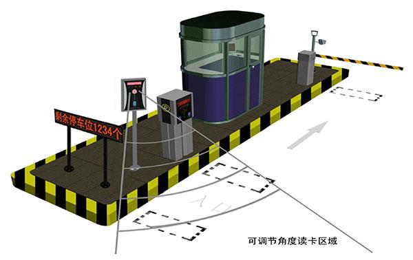 中控电路板与道闸接线图
